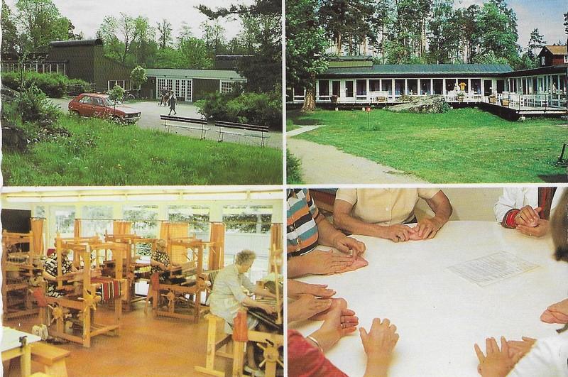Arbetsterapin. 1980-tal. Postst Sala 23.9.87 Asida.jpg