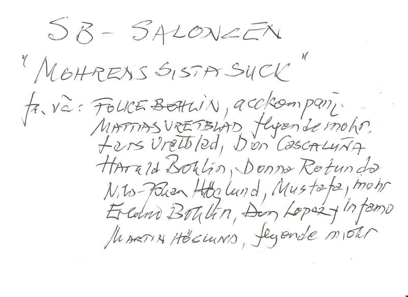 Mohrens sista suck. Årtal 1962. Bild 1. Fr v Folke Bohlin, Mattias Vretblad, Harald Bohlin, Nils-Johan Höglund, Erland Bohlin, Martin Högund. Text..jpg