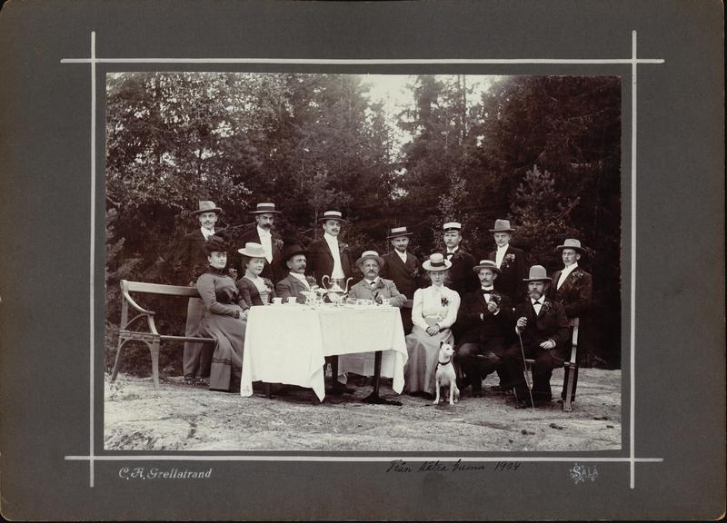 Från Sätra Brunn 1904. Prof Pettersson m fl. Foto..jpg