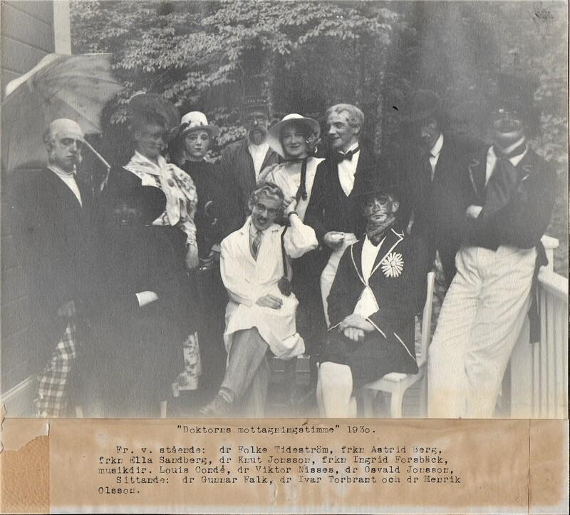 Sätra Brunn. Kabaré. Doktorns mottagningstimme år 1930. Foto..jpg