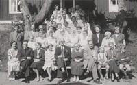 Sätra Brunn. Personal. Prof David Holmdahl.  Årtal 1954. Fotovykort..jpg