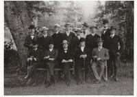 Sätra Brunn. Personal. Sommaren år 1908. Foto..jpg