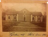 Sätra Brunn. Kyrkan. Kjörkan vid Sätra 1881..JPG