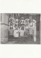 Sätra Brunn. Brunnsbarn. Midsommar 1908. Årtal 1908.jpg
