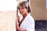 Sätra Brunn. Barbro (Lill-Babs) Svensson ger konsert i kyrkan. 29 juli 2000.