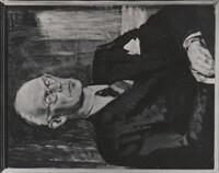 Sätra Brunn. Intendent Professor David Holmdahl.  Foto av målning signerad G. Thorsell, 1947. . Överlämnat till brunnen av Magdalena Pettersson 1992. Foto storlek 76x97 mm. Foto..jpg