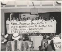 Kabare´ 1956. Bild 1.