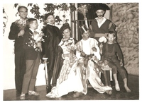Mohrens sista suck. Årtal 1962. Bild 1. Fr v Folke Bohlin, Mattias Vretblad, Harald Bohlin, Nils-Johan Höglund, Erland Bohlin, Martin Högund. Foto.jpg