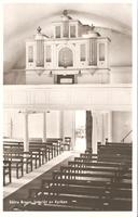 Kyrkan. 1960-tal. Interiör orgel. Ej postg Asida.jpg