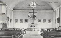 Kyrkan. 1910-tal. Interiör. Ej postg Asida.jpg