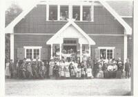 Sätra Brunn.Sociteten. Eftersommaren 1912. Foto..jpg