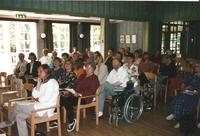 Sätrastämning. Lyssnare  i Societetshuset. År 1996.