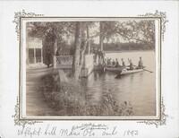 Sätra Brunn. Personal. Utflykt till Måns Ols omkring 1893. Foto..jpg