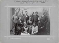 Sätra Brunn. De tjänstgörande vid brunnen 1903. Foto..jpg